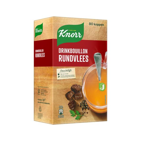 Knorr drinkbouillon rundvlees zakje