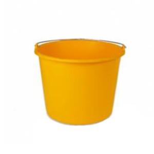 Weco emmer geel 12ltr.