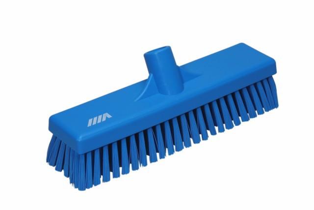 Vikan vloerschrobber hard blauw 30 cm