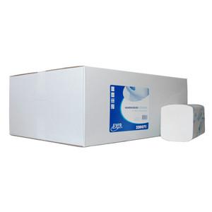 Papieren handdoekjes interfold cellulose 2 laags 42x21 cm 2400 stuks
