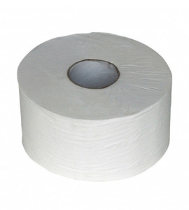Toiletpapier 2lgs mini jumbo cellulose 12x180mtr