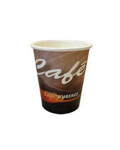 Cafe auberge kartonnen beker 250 cc