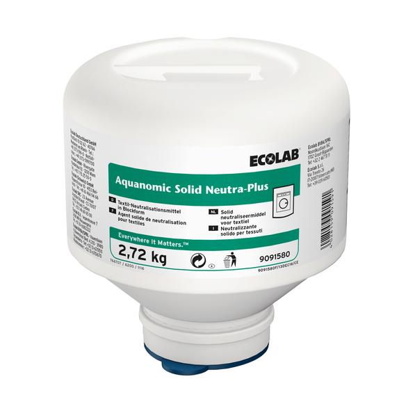 Ecolab aquanomic solid neutra plus 2.72 kg