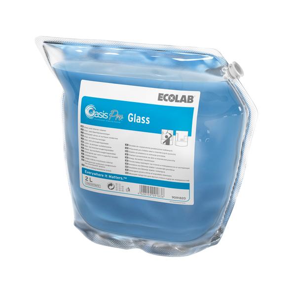 Ecolab oasis pro 40 interieur & glasreiniger 2x2 liter