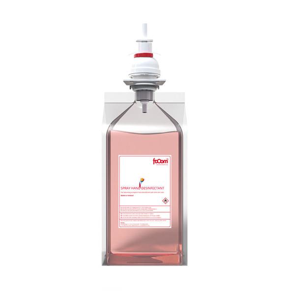FoOom desinfectie handgel zak 6 x 1 liter