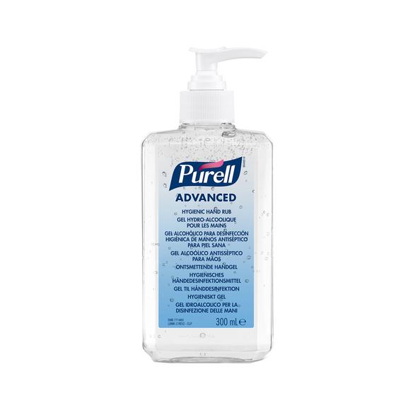Purell advanced desinfecterende handgel 300 ml