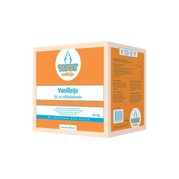 NJOY vanilleijs mix 1 kg