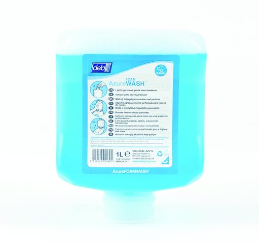Deb azure foam wash 1 liter