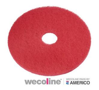 Vloerpad rood 14 inch  5stuk tbv TTB 1840