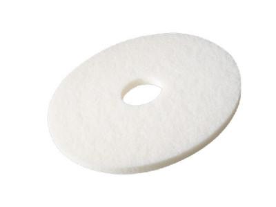 Vloerpad wit 14 inch 5 stuks