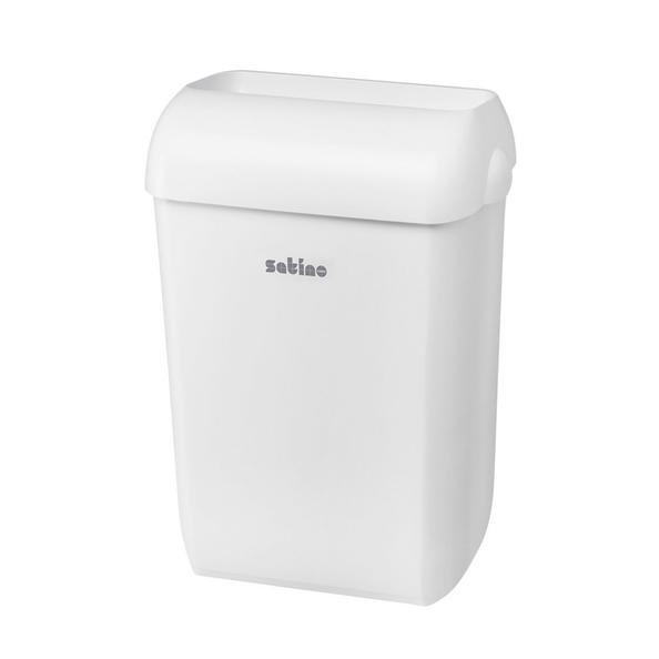 Satino afvalbak wit 43 liter