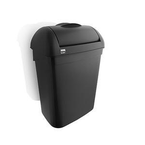 Satino black dames hygienebox kunststof 8 liter