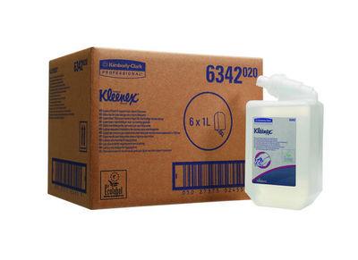 Kimberly clark kleenex luxe foam handreiniger voor veelvuldig gebruik 6x1 liter