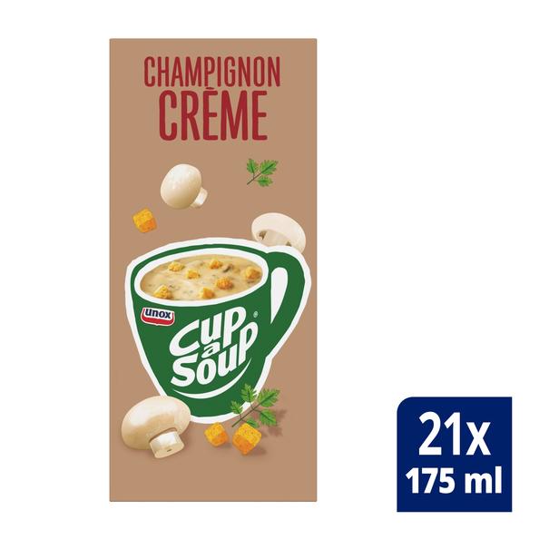 Unox Cup-a-Soup Champignon Crème 21 x 175 ml