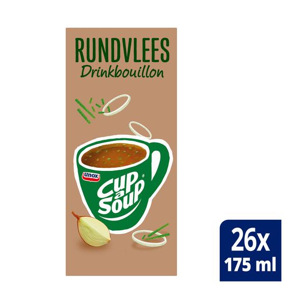 Unox Cup-a-Soup drinkbouillon Rundvlees 26 x 175 ml