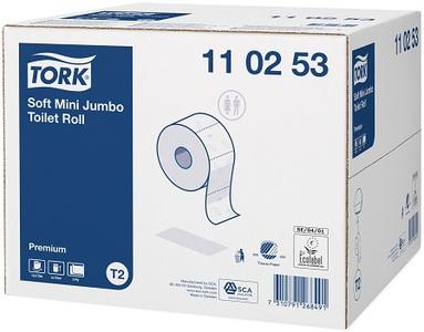 Tork mini jumbo toiletpapier 2lg T2 170mx9.7cm