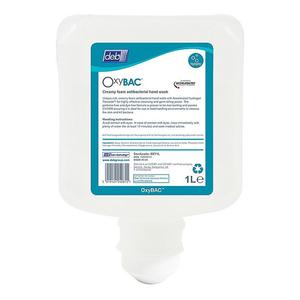 Deb oxybac foam wash 1 liter