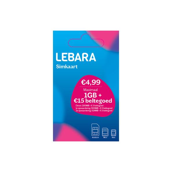 Lebara Mobile Online SIM-kaart