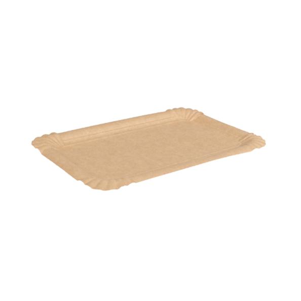 Biodore schaal karton kraft 13x20 cm