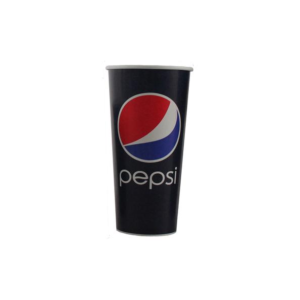 Pepsi cola papieren beker 400 ml 16oz 20 x 50 stuks