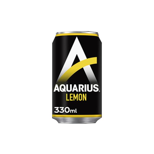 Aquarius wit lemon blik 33 cl