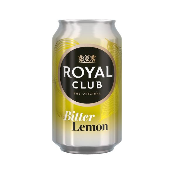 Royal club bitter lemon blik 33 cl