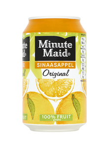 Minute Maid jus d'orange blik 33 cl