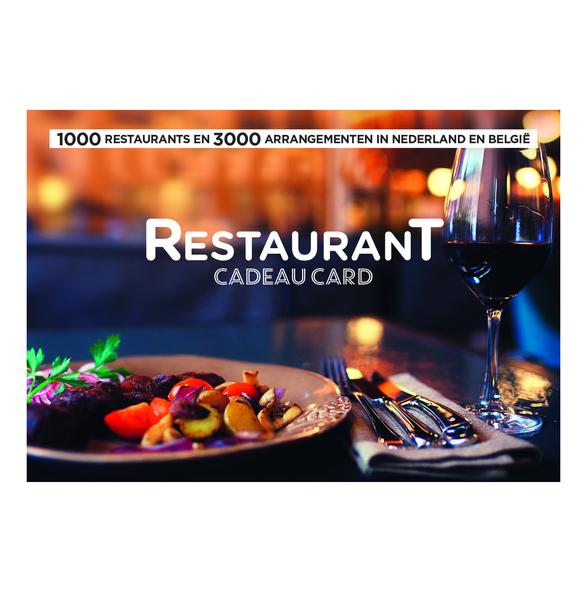 Leisure gifts restaurant cadeau card