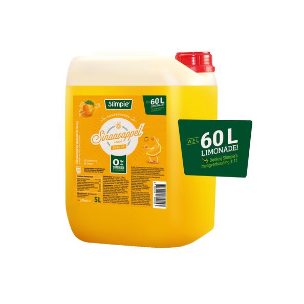 Slimpie limonade sinaasappel 5 liter