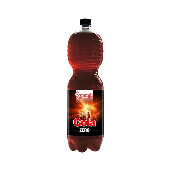 Summit cola zero fles 2 liter