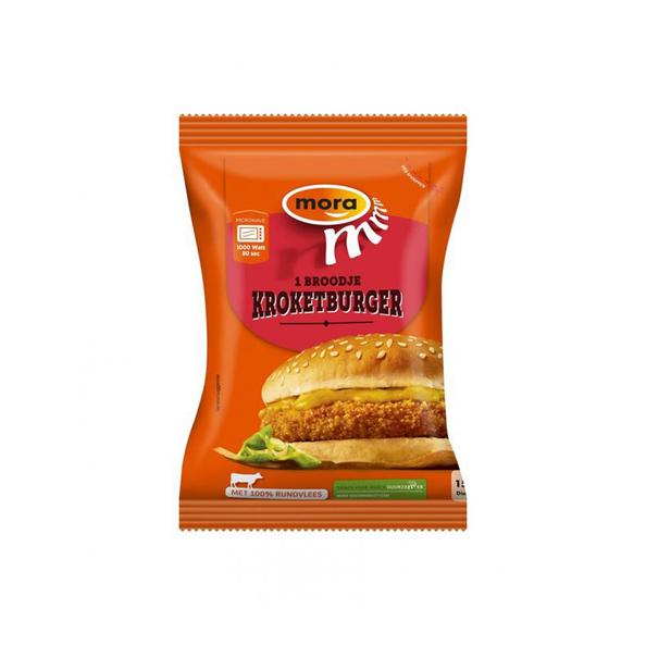 Mora broodje kroketburger 150 gr