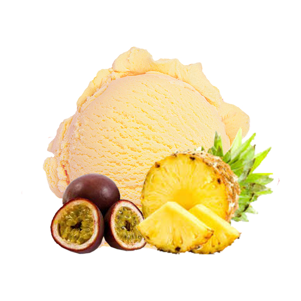 Gelato Fantastico ananas passievrucht schepijs 4.7 liter