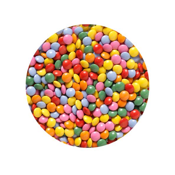 Frusco ijsdip mini's (smarties) 1.5 liter - Toppings ... Smarties Verpakking
