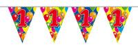Vlaggenlijn balloons 1 jaar 10m. a12