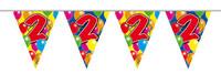 Vlaggenlijn balloons 2 jaar 10m. a12