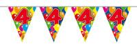 Vlaggenlijn balloons 4 jaar 10m. a12