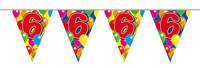 Vlaggenlijn balloons 6 jaar 10m. a12