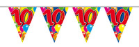 Vlaggenlijn balloons 10 jaar 10m. a12