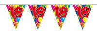 Vlaggenlijn balloons 18 jaar 10m. a12