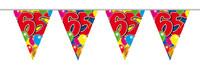 Vlaggenlijn balloons 65 jaar 10m. a12