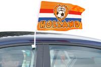 Autovlag rwb oranje leeuw 30x45cm. a12