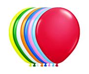 Ballonnen folatex 12ln/30cm onb std ass/100