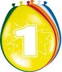 Ballonnen folatex 30 cm. 1 jaar 8st. a12