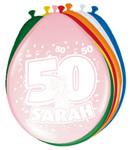 Ballonnen folatex 30 cm. sarah 8st. a12