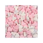 Dextrose vruchtenhartjes roze/wit 1 kg