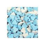 Dextrose vruchtenhartjes blauw/wit 1 kg