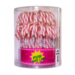 Candy canes roze/wit