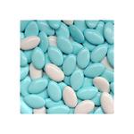 Chocoladedragees blauw-wit 900 gr