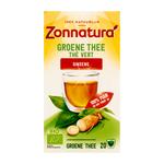 Zonnatura 100% groene ginseng thee 20 x 1.8 gr