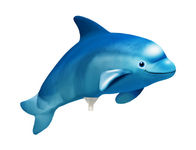 Mini folie ballon Dolphin blue